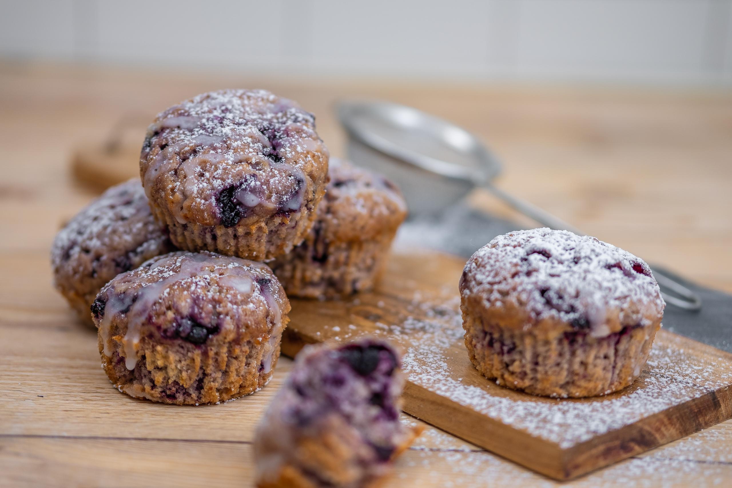 Vegan buleberry muffin