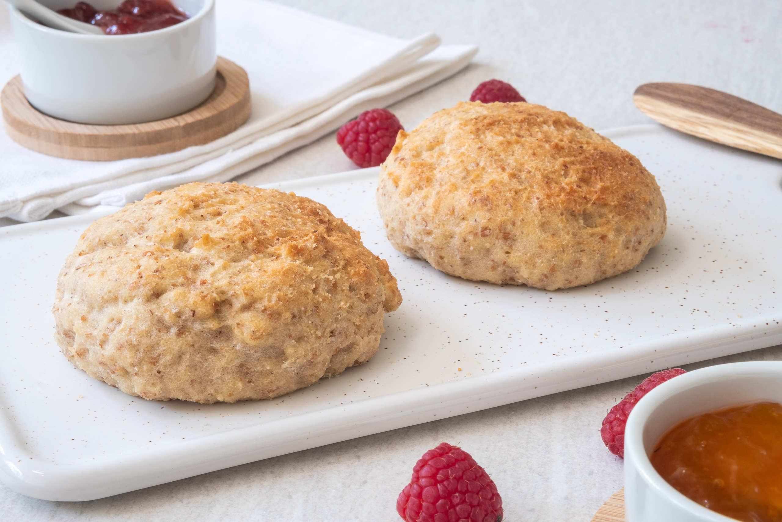 Veganska scones recept