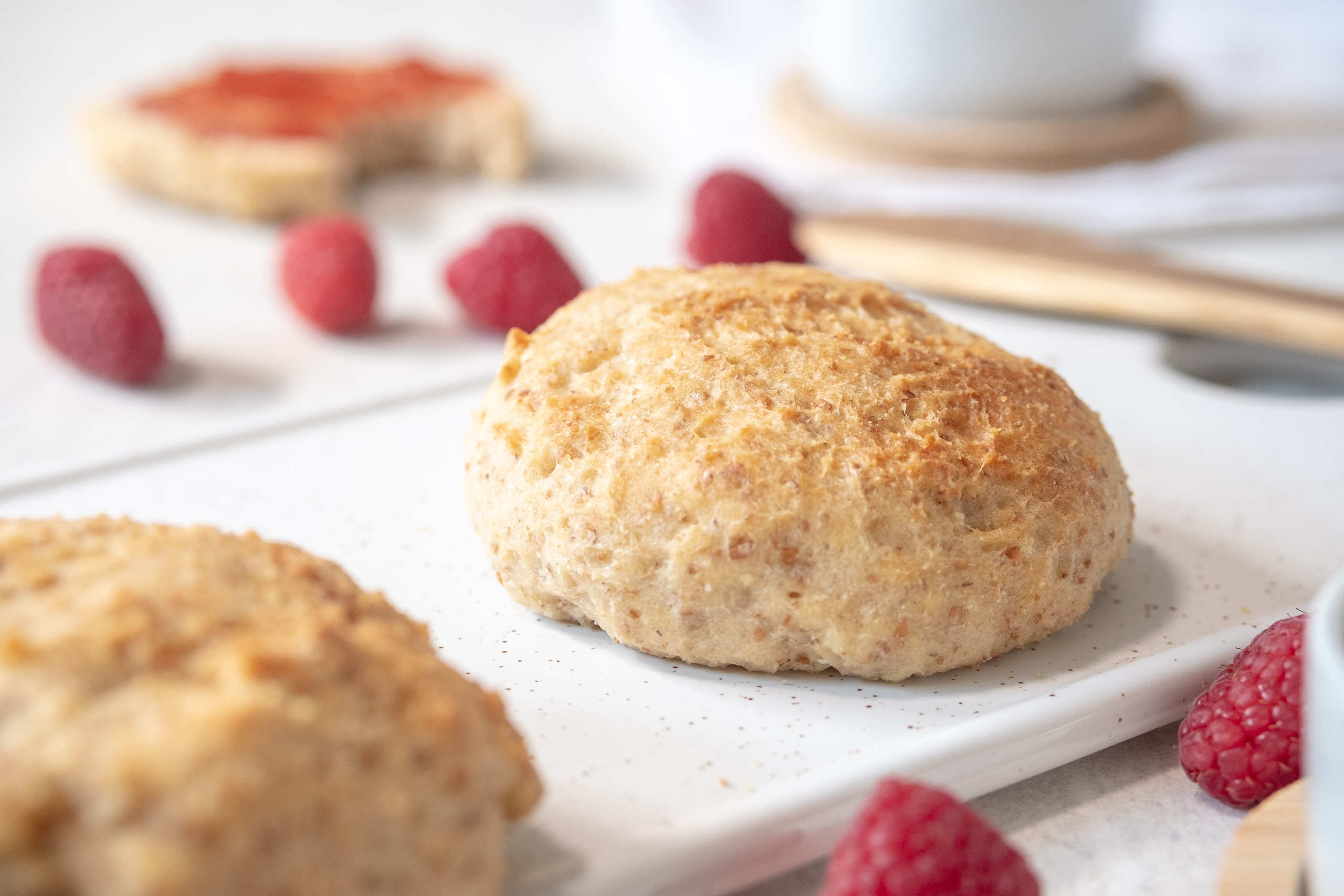 Vegan breakfast scones recipe