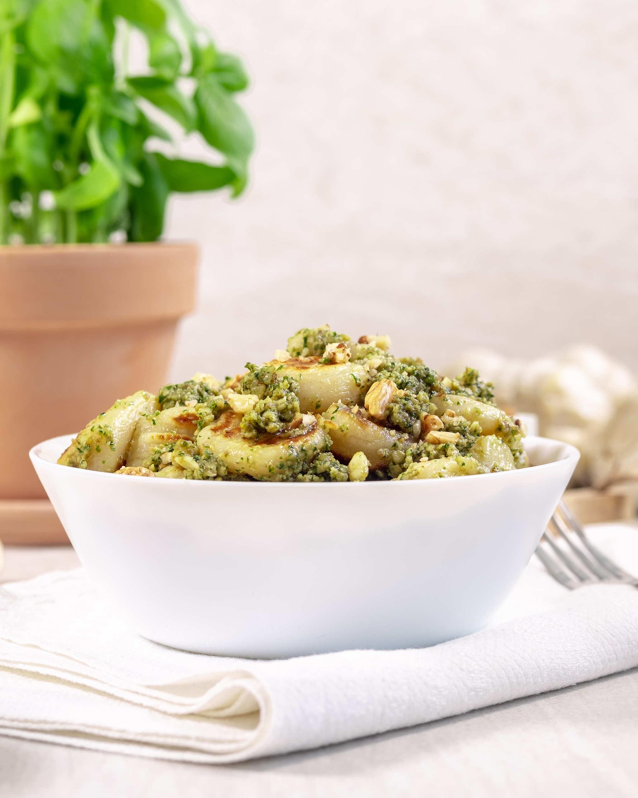 Vegan homemade gnocchi recipe