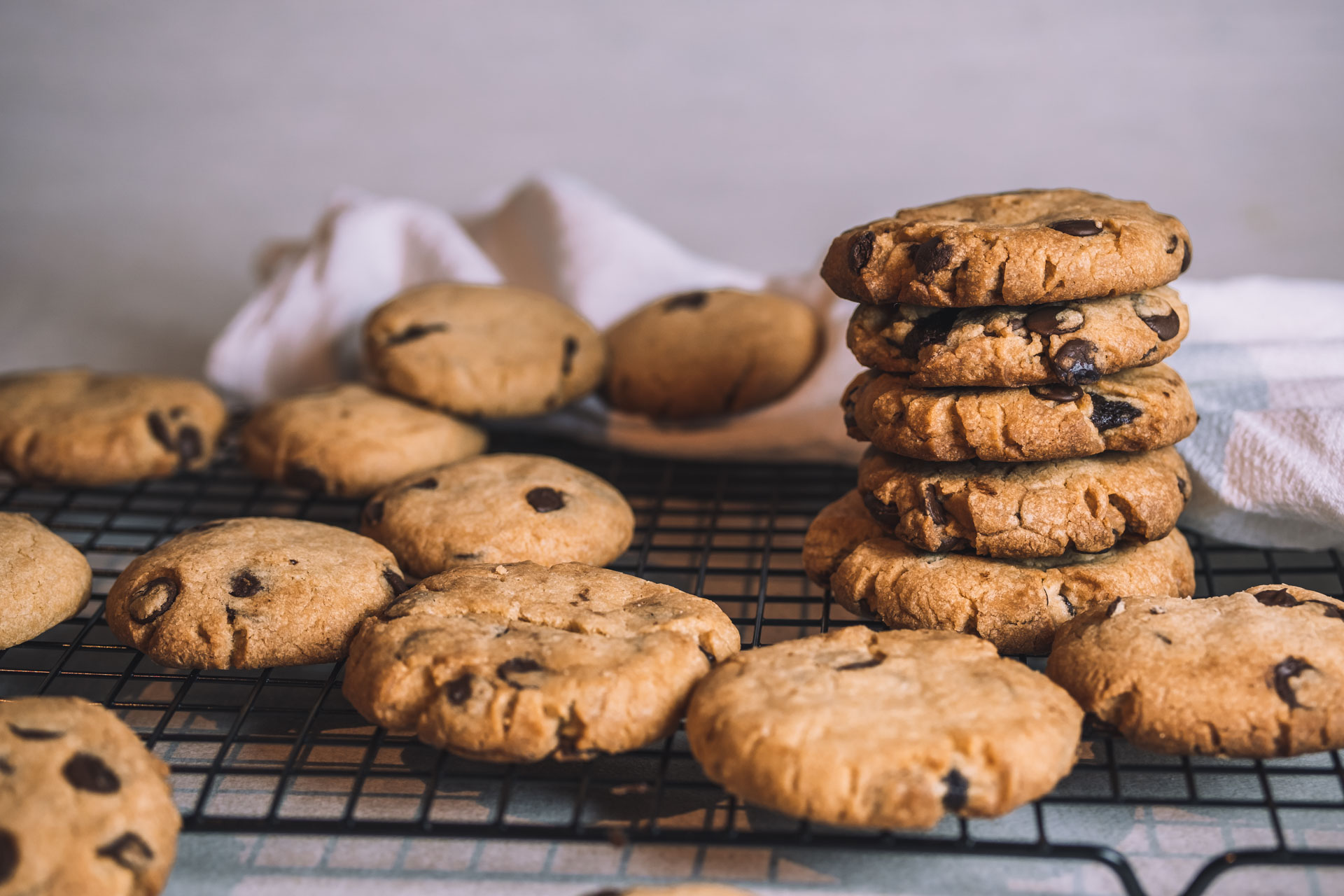 Vegansk chocolate chip cookie recept choklad kaka