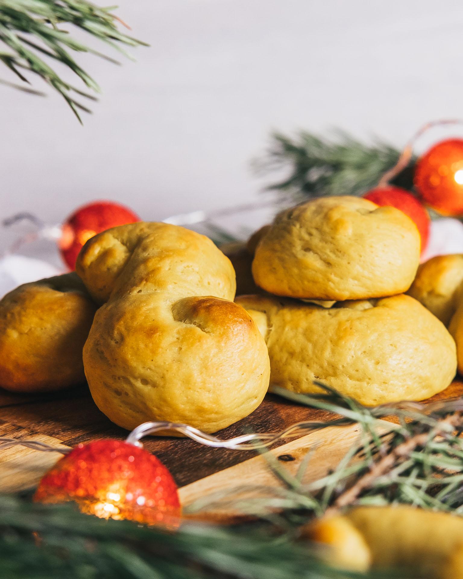 Recept på veganska lussekatter lussebullar safftansbullar saftiga fluffiga goda enkla