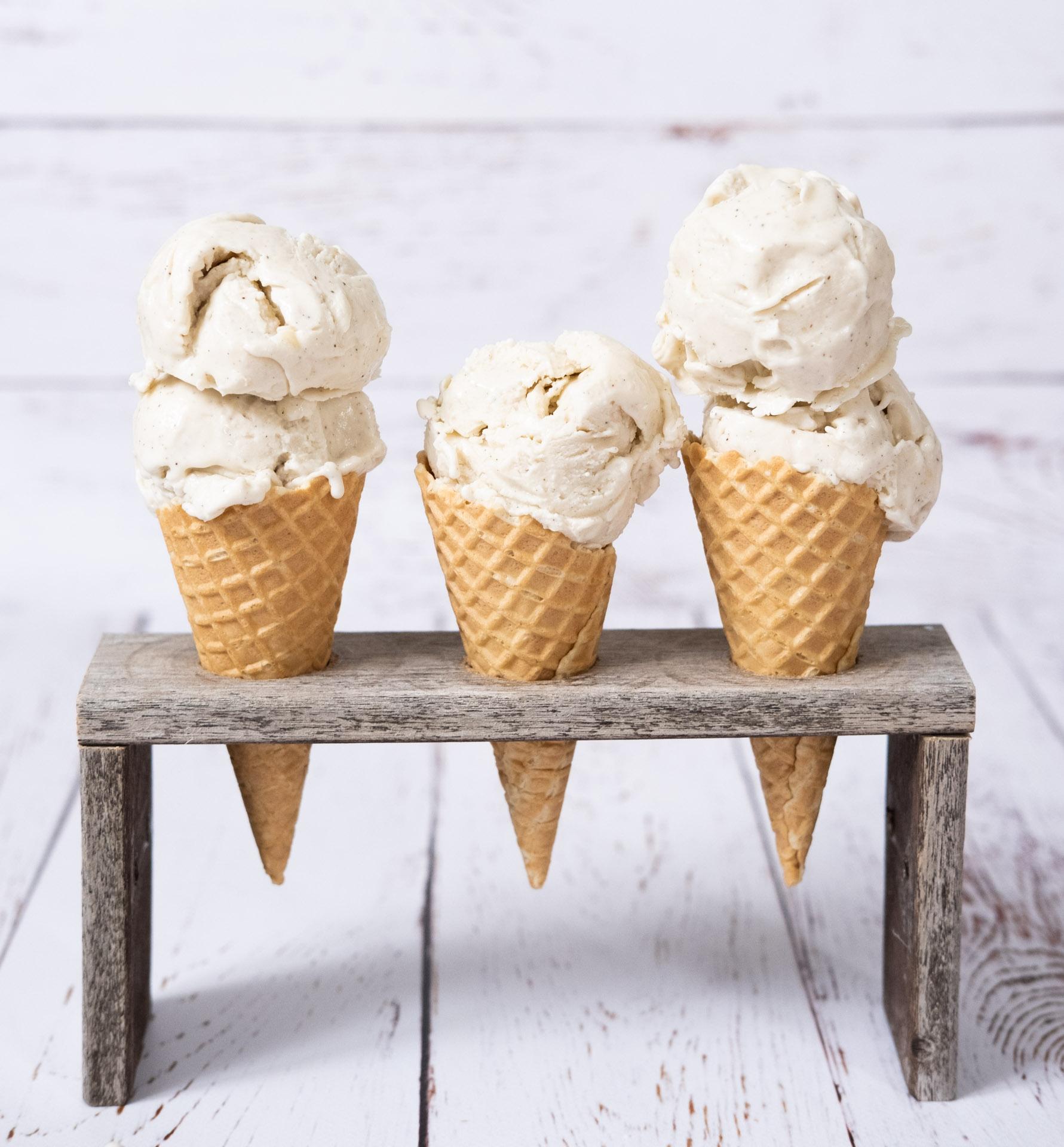 Vegansk gräddglass vaniljglass recept