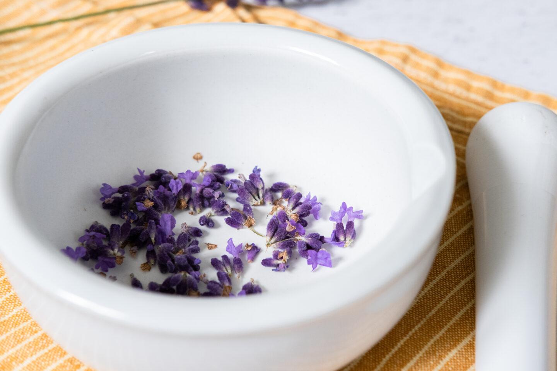 DIY kroppsskrubb lavendel sockerskrubb