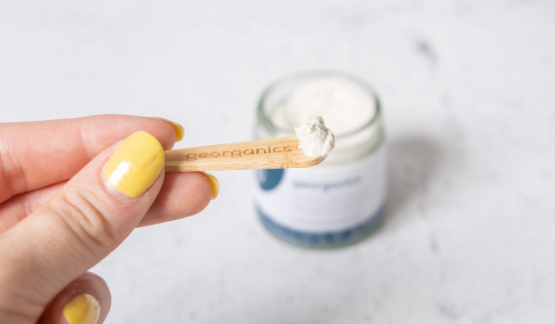 test av veganska tandkrämer georganics