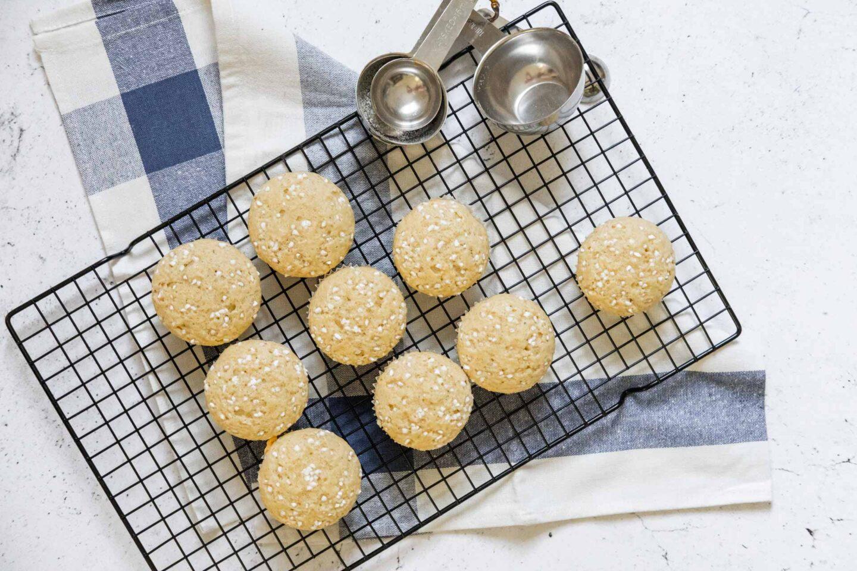 Veganska muffins kardemumma recept kardemummamuffins