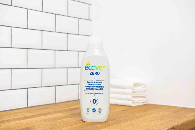 Veganska miljövänligt tvättmedel test ecover