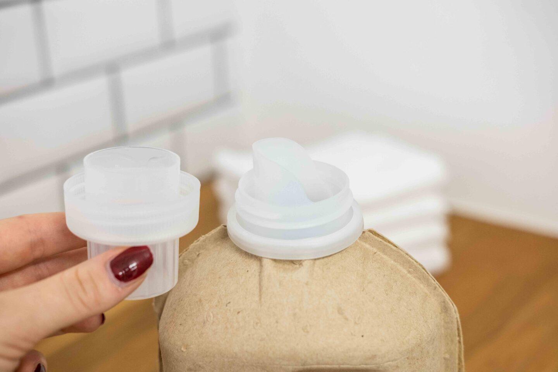 Veganska miljövänligt tvättmedel test mulieres
