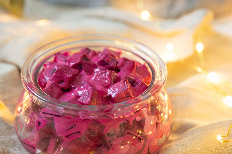Vegansk rödbetssallad recept julrecept