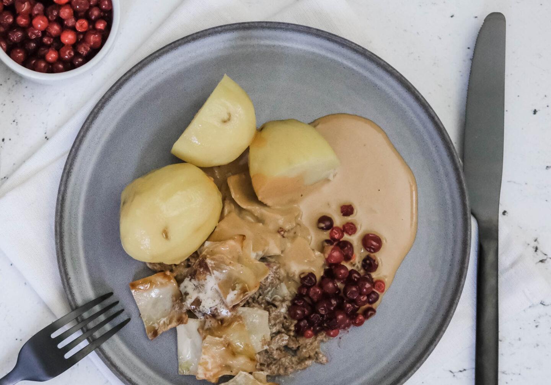 Vegansk gräddsås brunsås recept