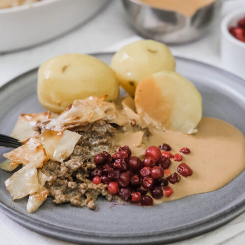 Recept på vegansk kålpudding