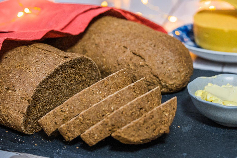 recept på ett klassiskt veganskt vörtbröd